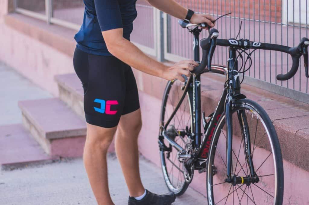 culote ciclismo y bicicleta